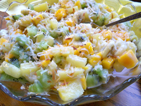 Tropical Fruit SaladnbspRecipe