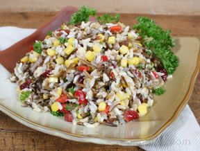 Wild Rice Salad with Corn