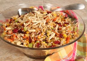 Wild Rice and Corn Salad