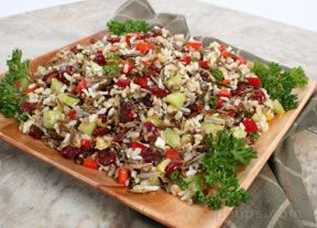 Wild Rice and Cucumber Salad Recipe
