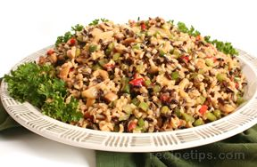 Wild Rice Salad with Orange Ginger Dressing