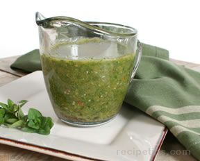 Chimichurri Sauce Recipe
