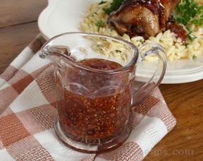 Red Currant Sauce Recipe