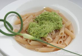 garlic scape pesto Recipe