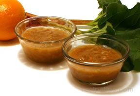 Rhubarb Orange Sauce