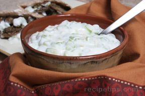 Tzatziki Sauce with Mint Recipe