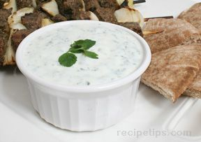 yogurt mint sauce Recipe