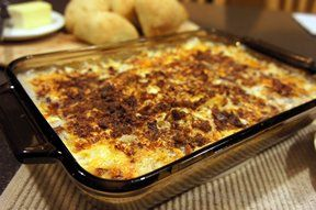 bacon potato casserole Recipe