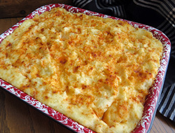 Baked Make-Ahead Mashed Potatoes