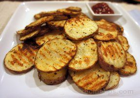 baked potato chips Recipe