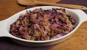 Sautéed Cabbage with Bacon