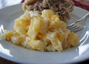 Crockpot Cheesy Party Potatoes Recipe Recipetips Com