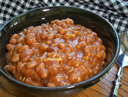 Easy Baked Beans  Bacon Recipe