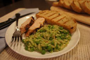 fabulous pea risotto Recipe