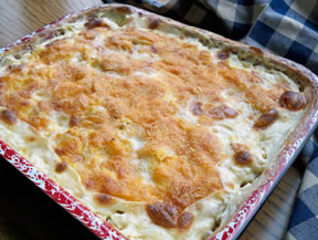 gourmet scalloped potatoes Recipe