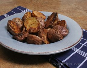 dill roasted red potatoes Recipe