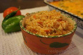 Spanish Rice with Vegetables