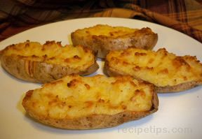 great twice baked potatoes Recipe
