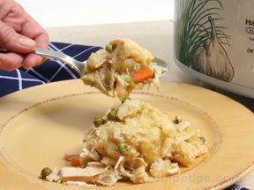 Slow Cooker Chicken And Biscuits Recipe Recipetips Com