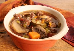 Slow Cooker Italian Vegetable Beef Soup