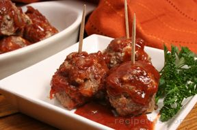 Raspberry Chipotle Meatballs
