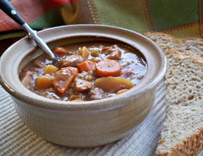 Simple Slow Cooker Beef Stew