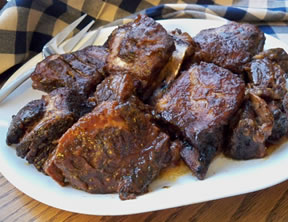 Slow Cooked Barbecued Short Ribs