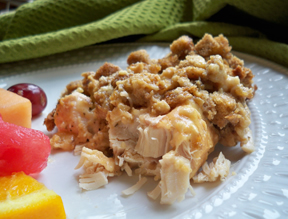 slow cooker chicken and stuffing Recipe
