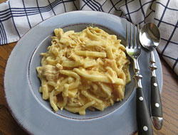 slow cooker chicken and noodles Recipe