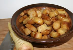 Slow Cooker Parsnips