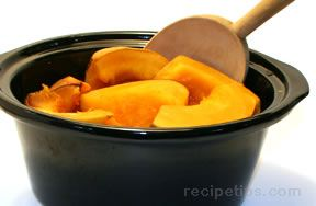 Slow Cooker Baked Squash