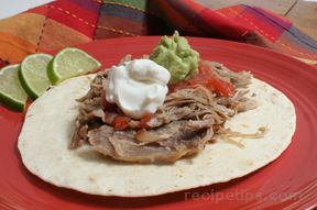 Slow Cooked Pork Carnitas Recipe
