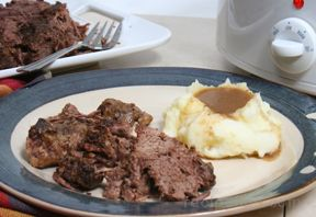 Slow Cooker Beef Roast Recipe