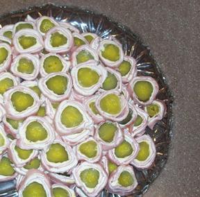 Ham and Pickle Rollups Recipe