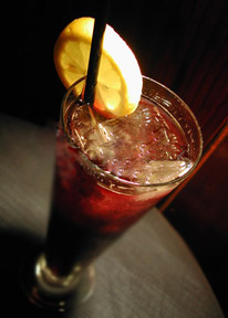 Raspberry Long Island Ice Tea