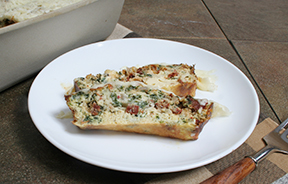 Sun-Dried Tomato and Spinach Frittata