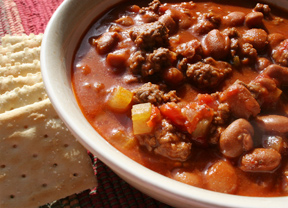 Football Sunday Chili
