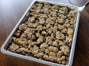 fudge nut bars Recipe