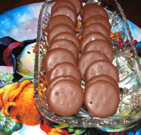 Chocolate Covered Peanut Butter Crackers Recipe