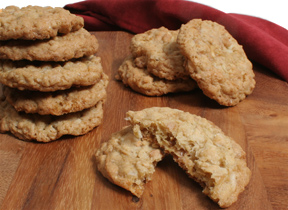Coconut Toffee Cashew Cookies