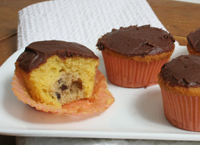 cookie dough cupcakes Recipe