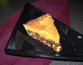 Creamy Pumpkin Chocolate Pie