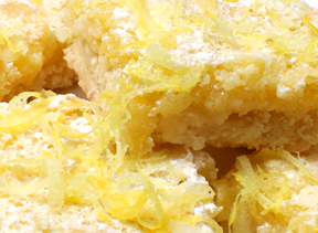 lemony lemon bars Recipe