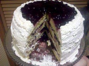 Smurfberry Cake Recipe
