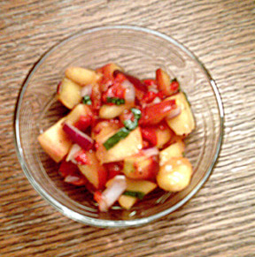 Peach Salad Recipe