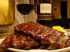 Tender BarBQue Spareribs