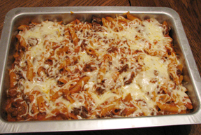 Cheesey Mostaccioli Recipe
