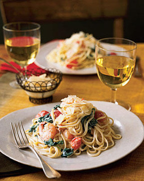 Garlic Shrimp LinguinenbspRecipe