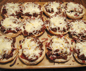 pizza burgers Recipe