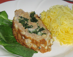 Turkey Roll with Spinach